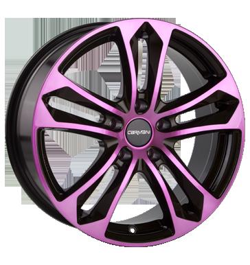 reifengro handel 5x114 3 et35 carmani 5 arrow mehrfarbig pink polish. Black Bedroom Furniture Sets. Home Design Ideas